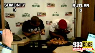 [Slider Eating Competition: Shmonty vs. Jeff Butler]