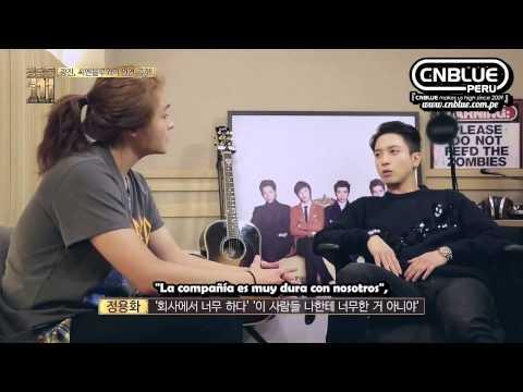 [Sub Español|CUT] Cheongdamdong 111 Ep. 7( CNBLUE & NFLYING): Yonghwa & KwangJin
