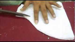 Sleeves Design:How To Cut Salwar Kameej/Kameez Cutting