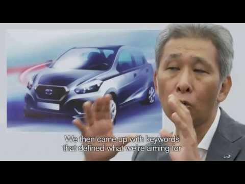 Vision Automotriz Datsun GO 2014 Koji Nagano, Datsun Executive Design Director
