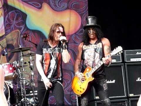 Slash - Nightrain - Sydney Soundwave 2011