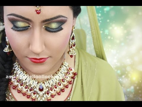Asian Indian Arabic Pakistani Bridal, Wedding & Party Makeup Looks