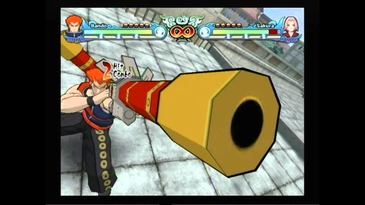 Naruto Shippuden Clash of Ninja Revolution 3 - Bando - YouTube