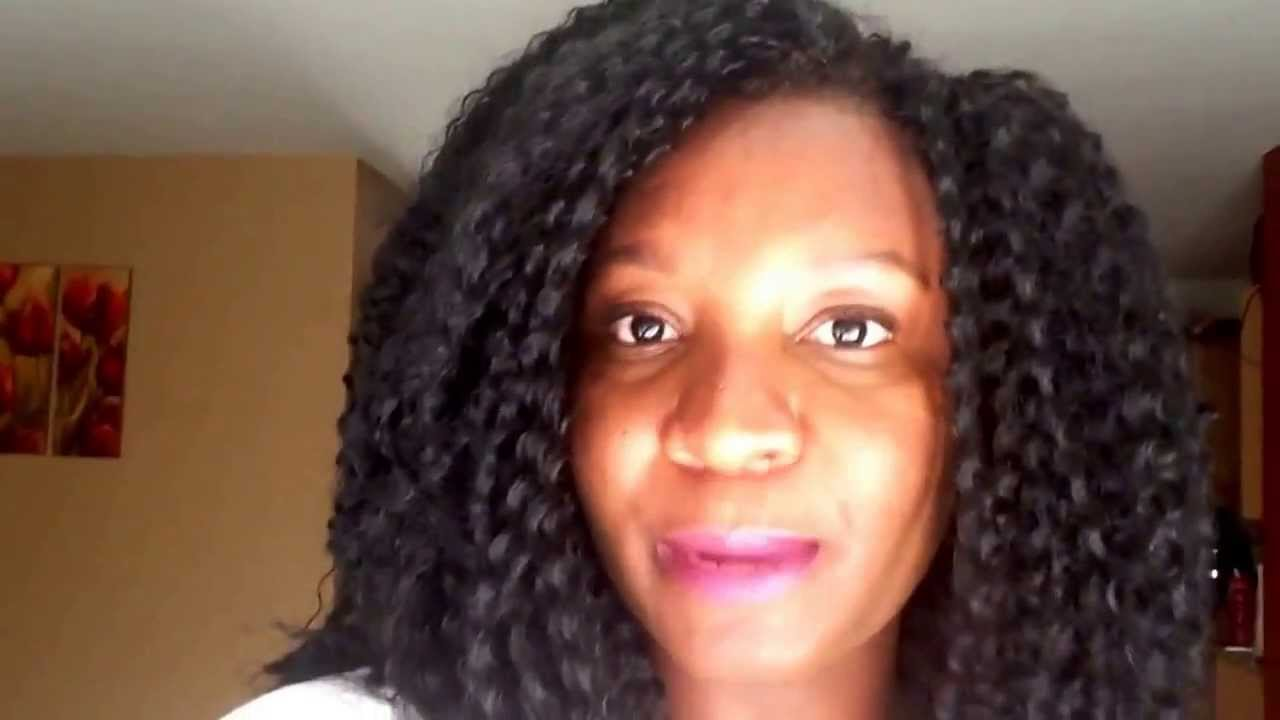 Crochet Hair Youtube : My new protective style - Crochet Braids. - YouTube