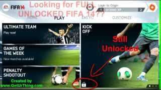 Fifa 14 Full Unlocked Download Working Android APK