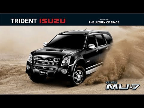 Isuzu Rolls out MU7 in india