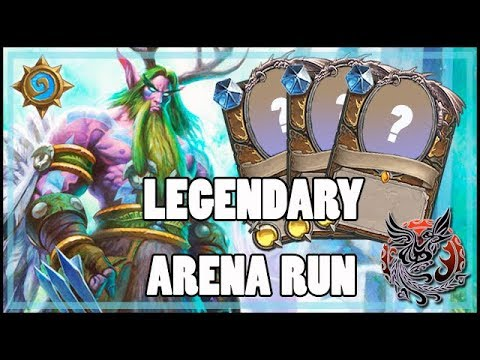 New arena seems pretty legendary! Legendary Arena run! - Hearthstone