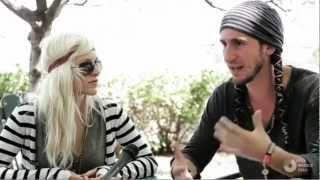 Gianni And Sarah Interviewed At Lollapalooza (The Weekly
