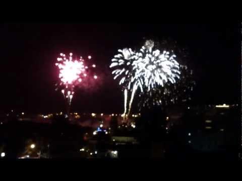 clip toàn cảnh bắn pháo hoa Đà Lạt 2013