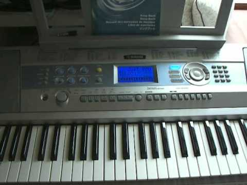 Yamaha dgx 200 portable grand electronic keyboard 2 of 2 for Yamaha credit application