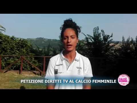 EMILY MOSCA (JESINA) INVITA A FIRMARE LA PETIZIONE DIRITTI TV AL CALCIO FEMMINILE,
