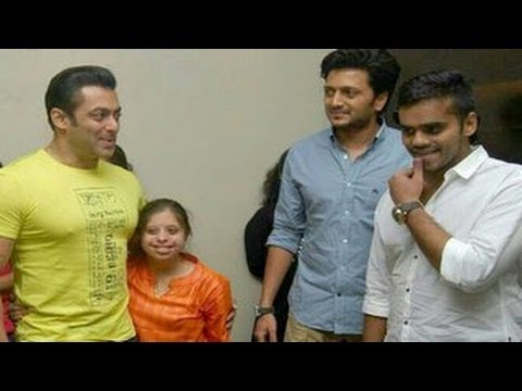 Salman Khan at Ritiesh Deshmukh's YELLOW screening