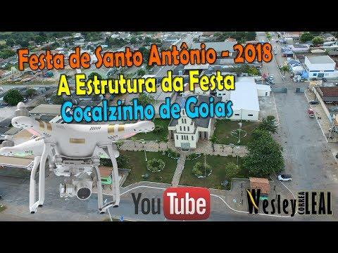 Festa de Santo Antônio em Cocalzinho de Goiás (Estrutura) em: 12/06/2018
