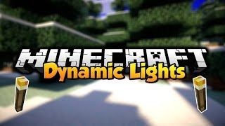 Minecraft - Mod Showcase - Dynamic Lights