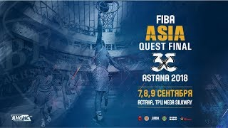 Invitation to FIBA Asia Quest Final 3x3
