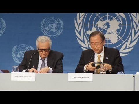 Syrie : pour Ban Ki-moon, ''trop, c'est trop''