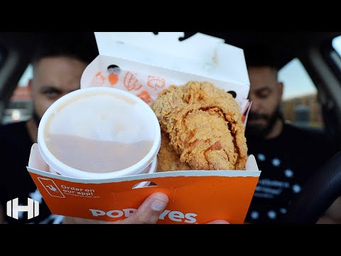 """Eating Popeyes """"Spicy Chicken Breast Platters"""""""