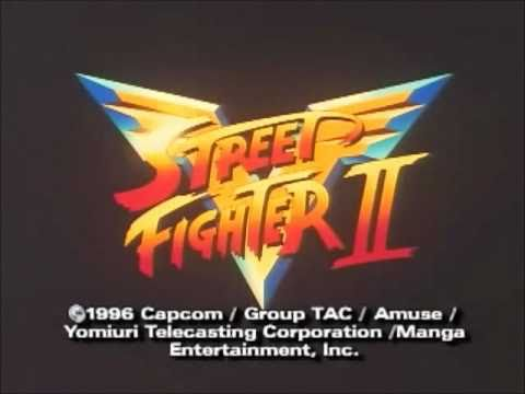 Street Fighter II  V Opening