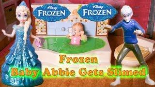 FROZEN Disney Elsa And Jack Frost Slime Baby Abbie A