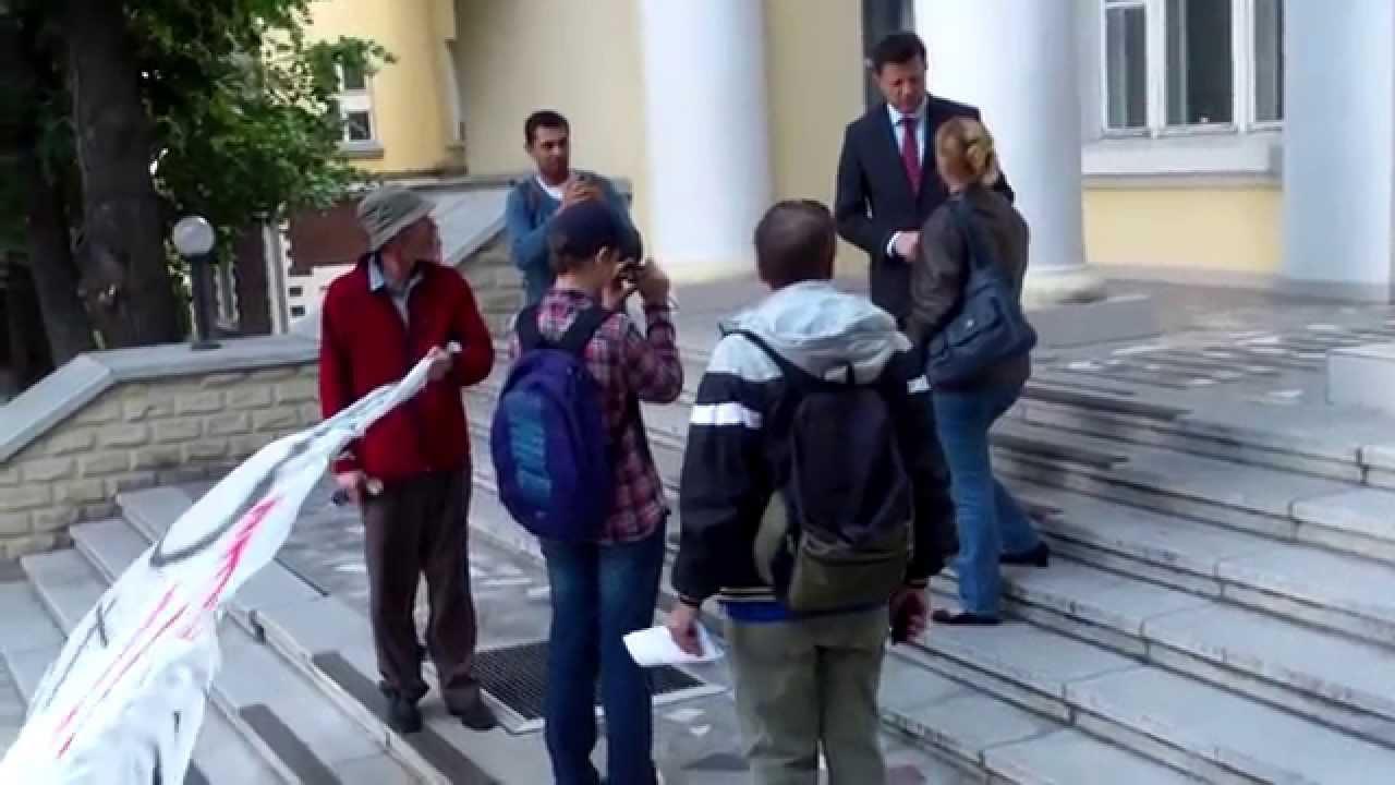 Protest HP la Ministerul Sănătății în ziua ușilor deschise