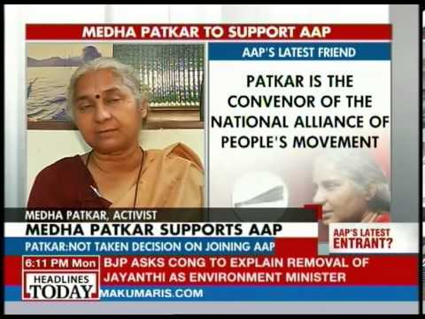 We have decided to intervene in electoral politics: Medha Patkar