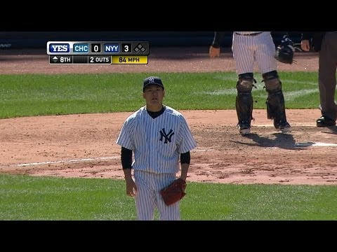 CHC@NYY: Tanaka strikes out 10 to lead Yanks to a win
