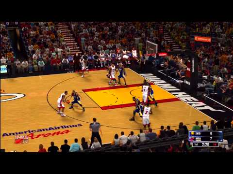 NBA 2K14: Miami Heat vs. Indiana Pacers HD Gameplay ft. Lebron James, Dwyane Wade, and Paul George