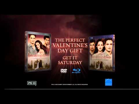 Dumbest Commercial Ever - Twilight Breaking Dawn Part 1 DVD
