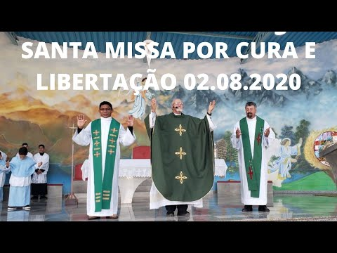 Santa Missa | 02.08.2020 | Domingo | Padre José Sometti | ANSPAZ