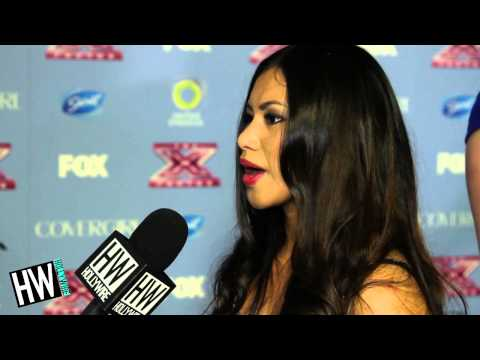 X-Factor's Ellona Santiago Reveals Demi Lovato Breakdown!