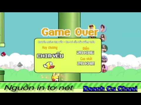 Chia Tay Anh Không Đòi Lại Quà Phiên Bản Game Flappy Bird