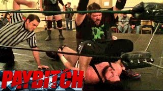 FAT YOUTUBERS DOING WWE FINISHERS VS PRO WRESTLERS AT INDY SHOW