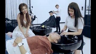 30Shine TV Phim Hài | Đi cắt tóc cùng cô vợ GHEN và cái kết bất ngờ | Ghiền Mì Gõ (Pinky, Bi Max)