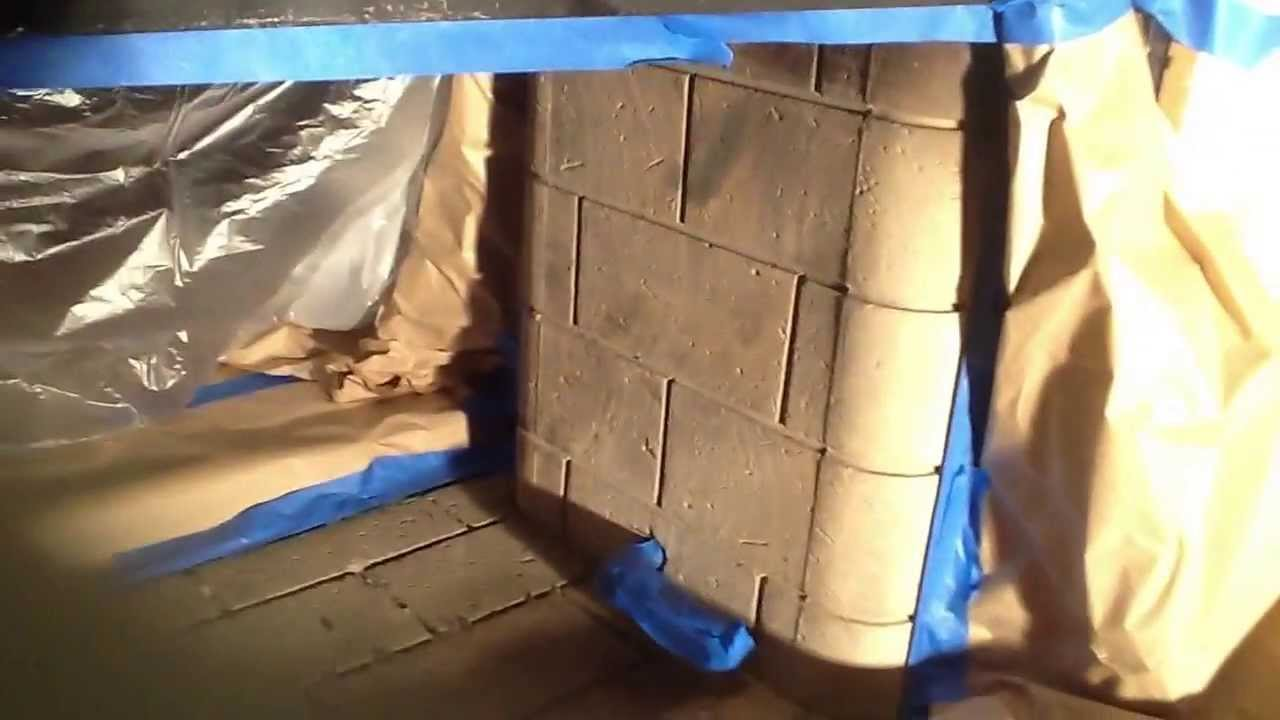 Gas Log Or Wood Burning Fireplace To Fire Glass Conversion Part 1 Youtube
