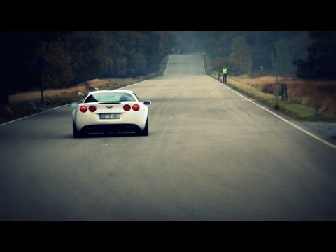 LOUD Corvette C6 Z06 w/ Corsa Exhaust Accelerating!! - 1080p HD