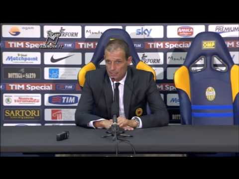 Allegri, post Verona-Milan: