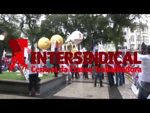 Trabalhadores paralisam Baixada Santista contra terceirização