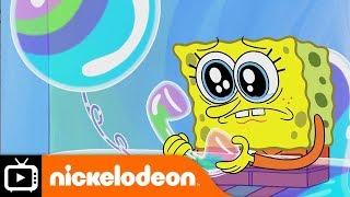 SpongeBob SquarePants | Bubbletown Prison Break | Nickelodeon UK