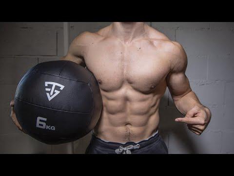 10min musculation perte de poids avec wall ball !