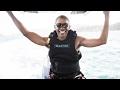Obama and Richard Branson in Kitesurfing Challenge