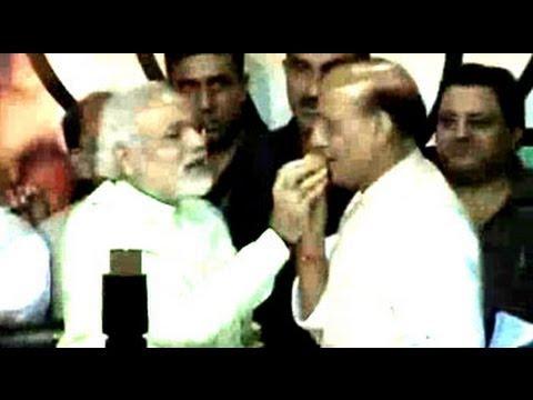 Narendra Modi announced BJP's candidate for Prime Minister in 2014