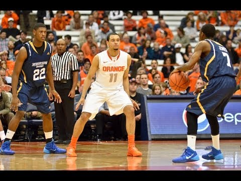 Video: Ryerson Rams vs Syracuse Orange at the Carrier Dome