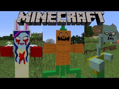 1001 LOẠI ZOMBIE MỚI!! (Zombie sắt, zombie khổng lồ,...) | Minecraft Mod Showcase