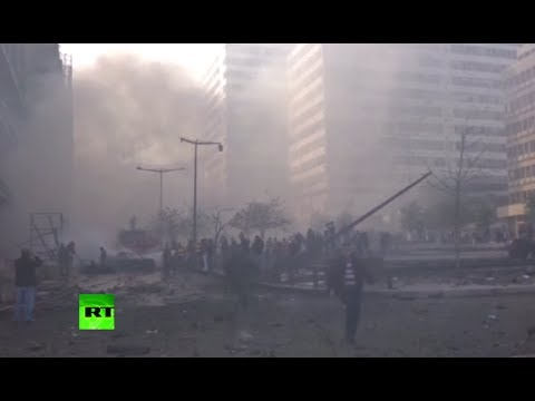 Video: Deadly explosion rocks Beirut near parliament building