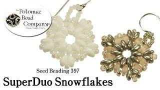 How To Make SuperDuo Snowflakes