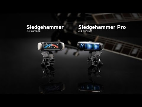 Korg Custom Shop Sledgehammer Pro Chromatic Clip On Tuner
