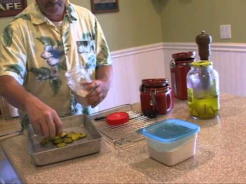 Cooking For Men! Deep Fried Pickles! Tony D'Angelo shows You How!