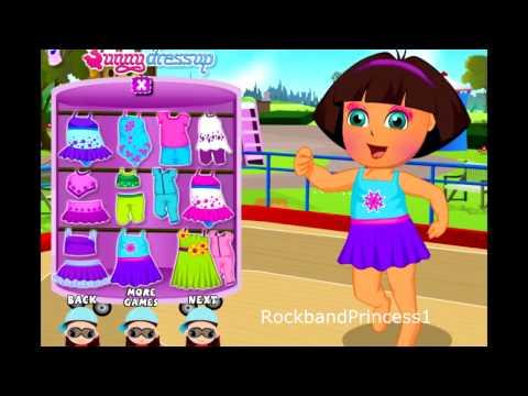 Dora The Explorer Game - Clothing Dress Up - Game