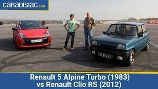 Renault 5 Alpine Turbo (1983) vs Renault Clio RS (2012)