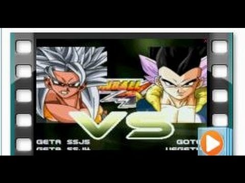 Gogeta SSJ5 and Gogeta SSJ4 vs Gotenks and Vegetrunks